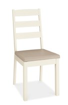 Hampshire Two Tone Slatted Dining Chairs - pair