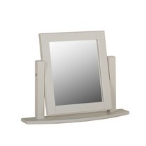 Lundy Painted & Oak Standard Dressing Mirror