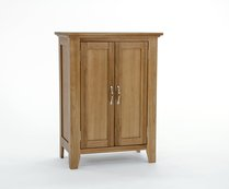 Sherwood Oak Shoe Cupboard