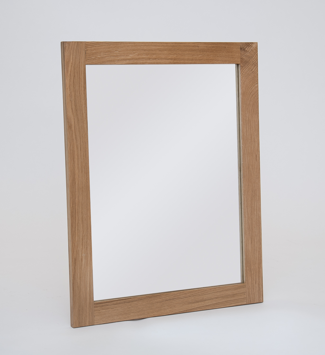 Hereford oak small wall mirror for Small wall mirrors