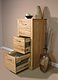 Mobel Oak 3 Drawer Filing Cabinet : 2