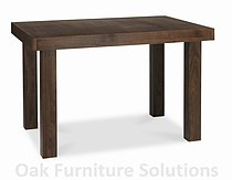 Akita Walnut 4-6 Seater Extending Dining Table