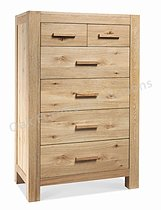 Lyon Washed Oak 4+2 Drawer Chest