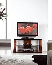 Jual Curve Walnut 1100 TV Stand JF201