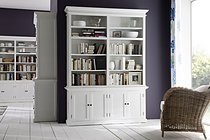 Belgravia Painted Double Bay Buffet & Hutch